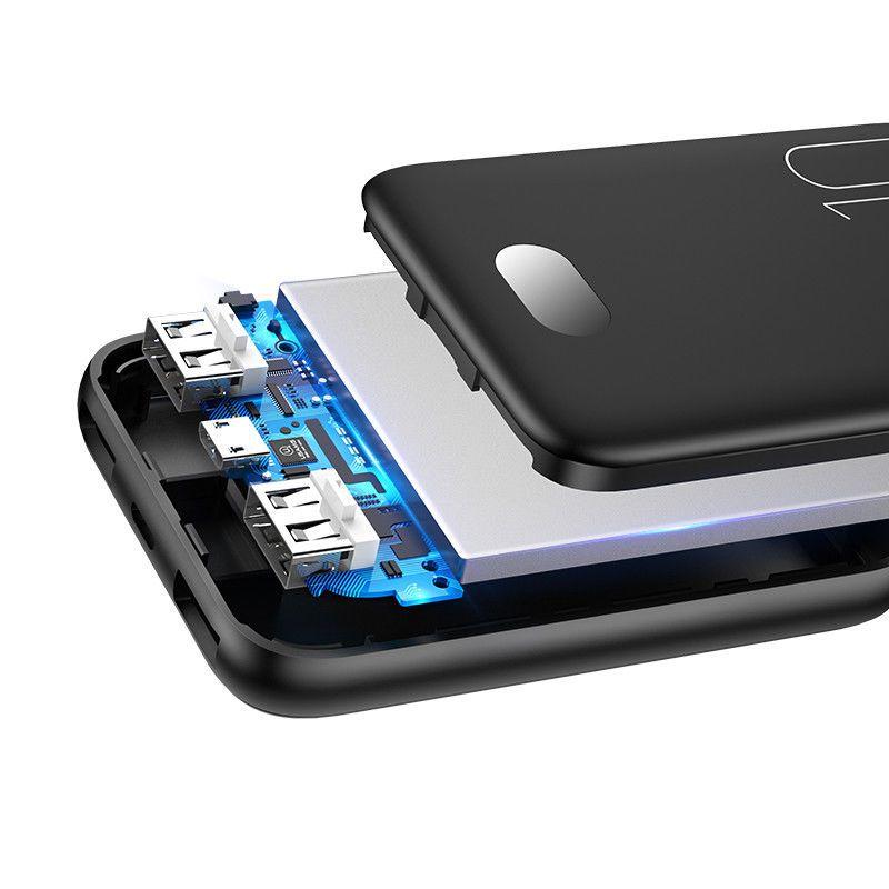 Usams Pb9 10000mah Dual Usb Mini Digital Power Bank (7)