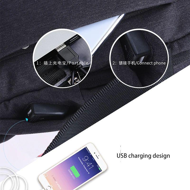 Wiwu Cross Body Single Shoulder Bags For Men (3)