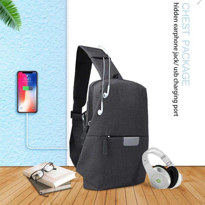 Wiwu Cross Body Single Shoulder Bags For Men (4)
