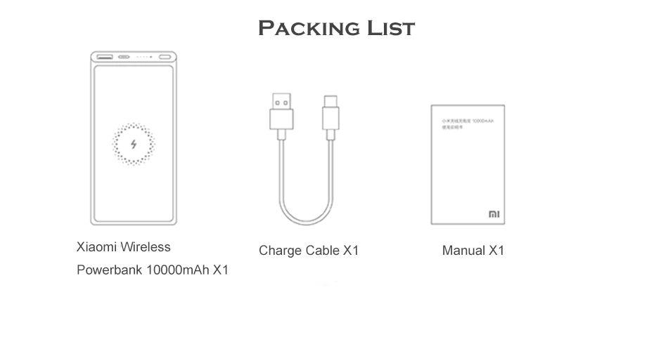 Xiaomi 10w Wireless Power Bank 10000mah (10)