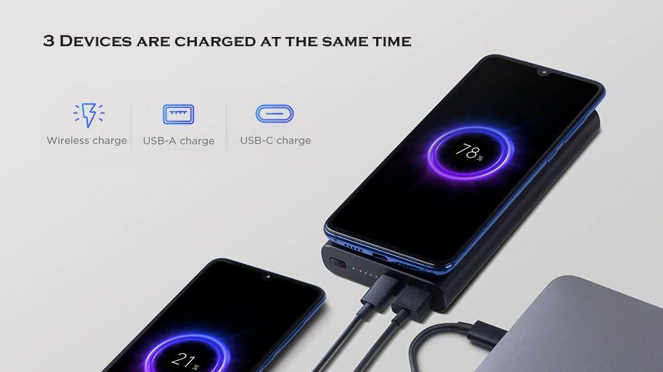 Xiaomi 10w Wireless Power Bank 10000mah (4)