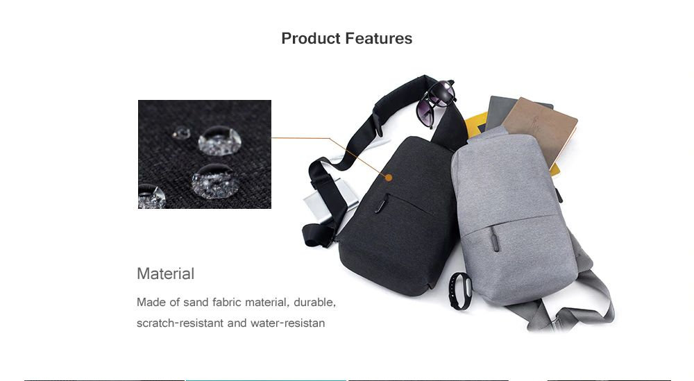 Xiaomi Backpack Sling Bag (2)