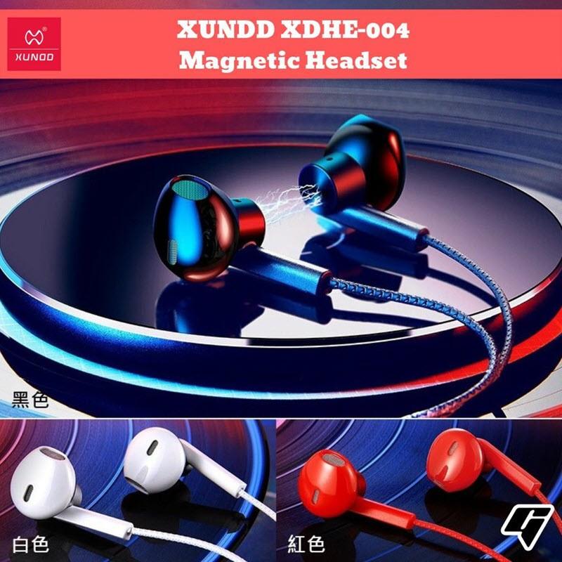 Xundd Xdhe 004 Magnetic Half In Ear Earphones (1)