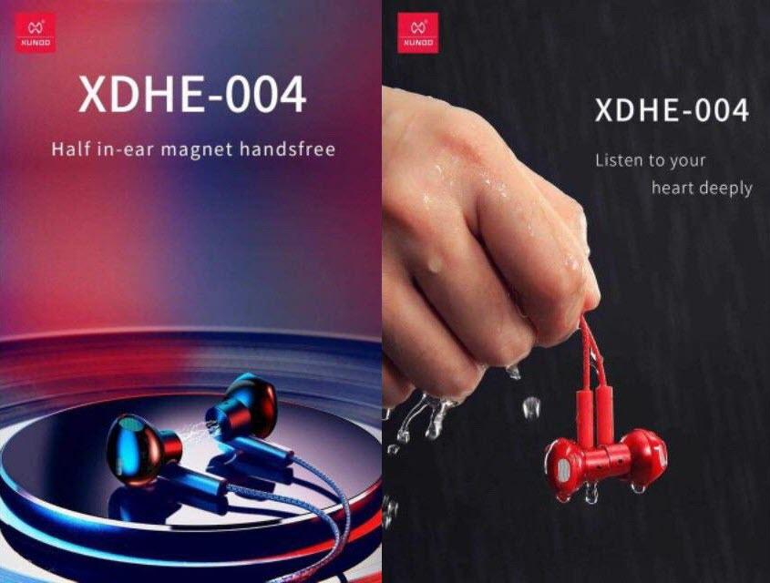 Xundd Xdhe 004 Magnetic Half In Ear Earphones (5)