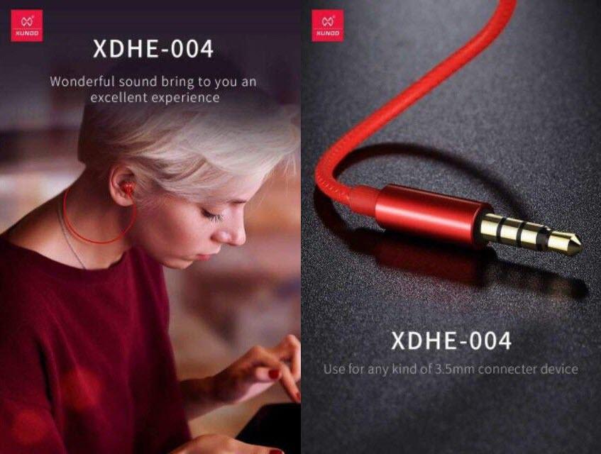 Xundd Xdhe 004 Magnetic Half In Ear Earphones (8)