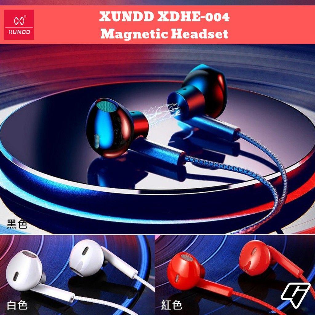 Xundd Xdhe 004 Magnetic Half In Ear Earphones (9)