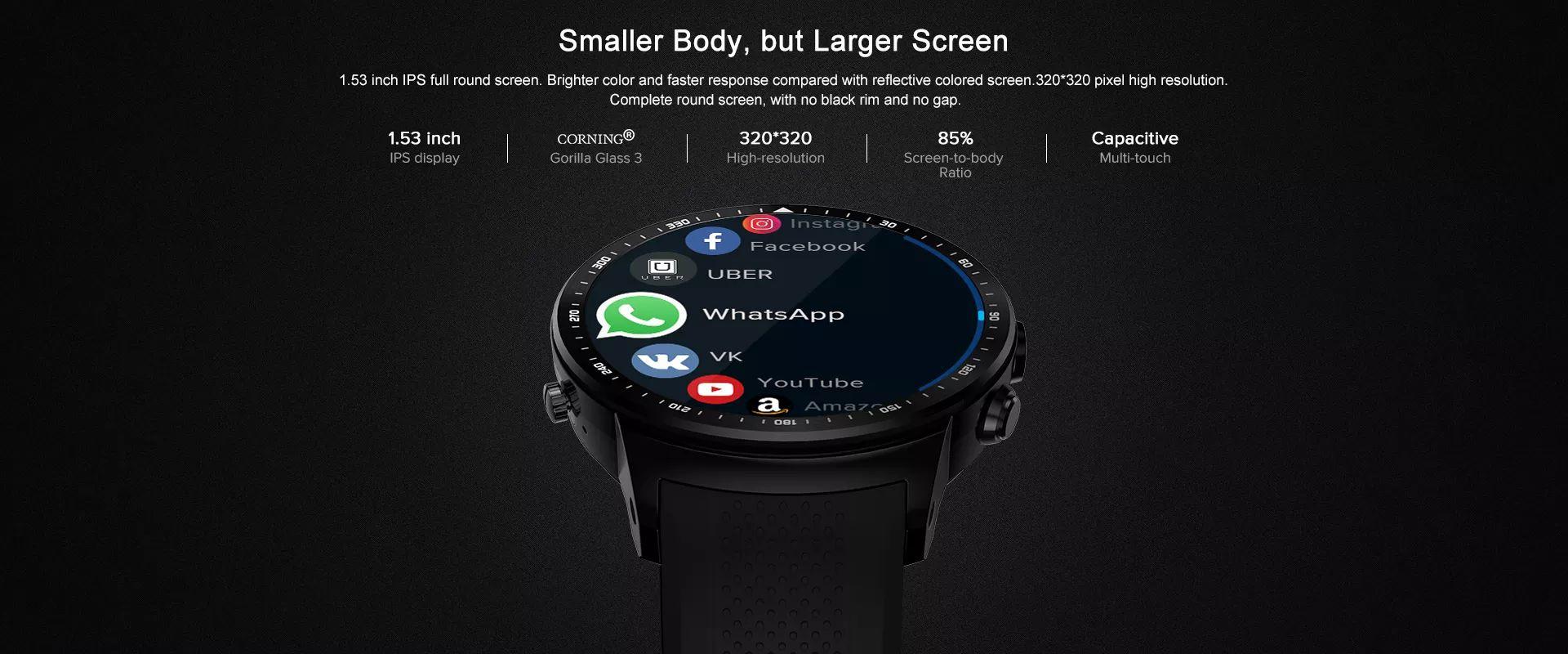 Zeblaze Thor Pro 3g Bluetooth Calling Gps Wifi Smart Watch (3)