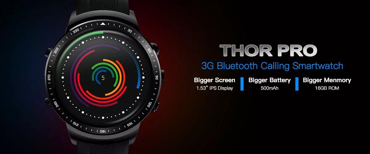Zeblaze Thor Pro 3g Bluetooth Calling Gps Wifi Smart Watch (8)