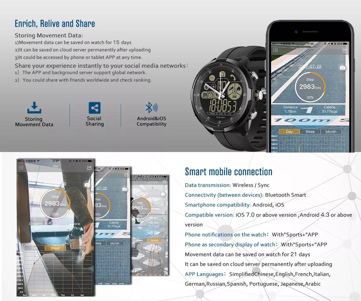 Zeblaze Vibe 4 Hybrid Smartwatch (4)