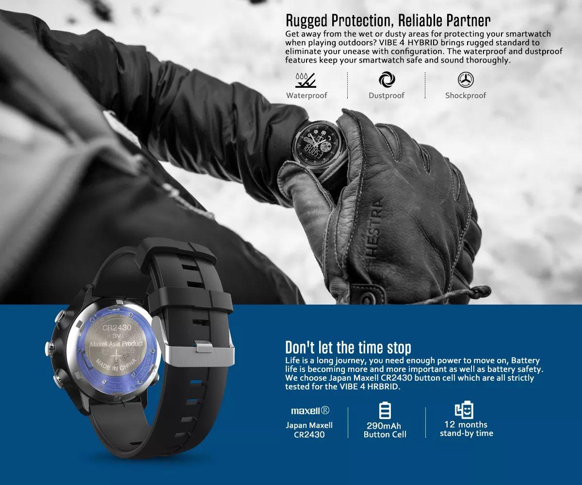 Zeblaze Vibe 4 Hybrid Smartwatch (5)