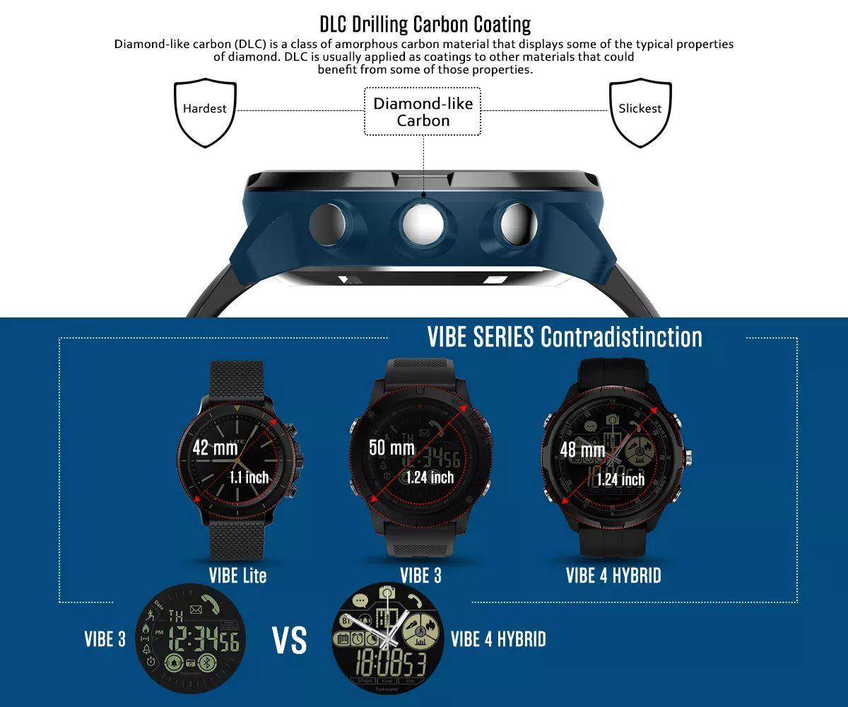 Zeblaze Vibe 4 Hybrid Smartwatch (6)