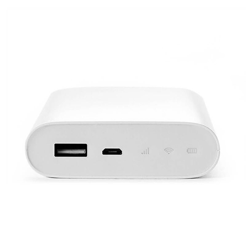 Zmi Mf815 2 In 1 4g Wireless Wifi Router And 7800mah Mobile Power Bank (3)