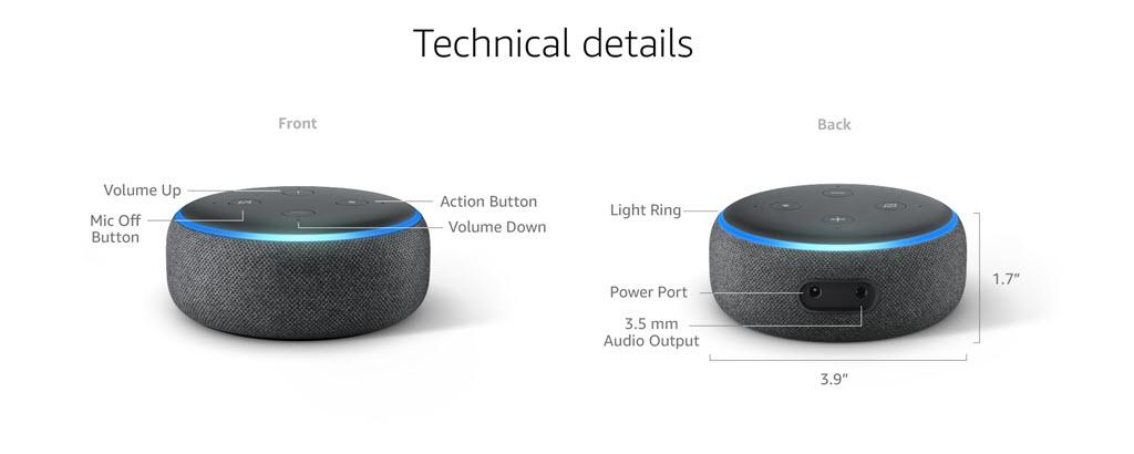 Amazon Echo Dot 3rd Gen Smart Speaker With Alexa (7)