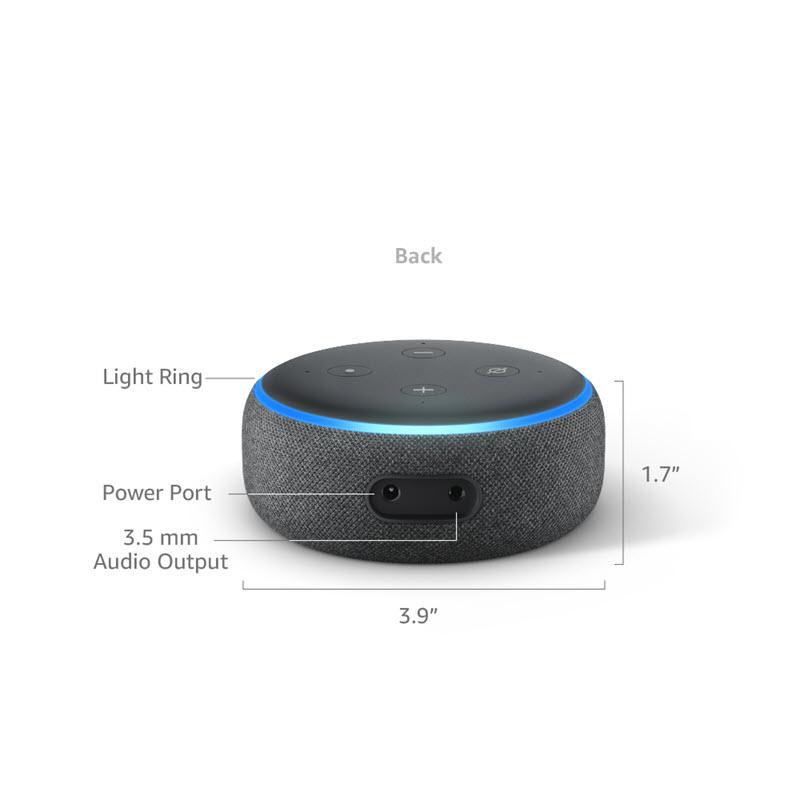 Amazon Echo Dot 3rd Gen Smart Speaker With Alexa (8)