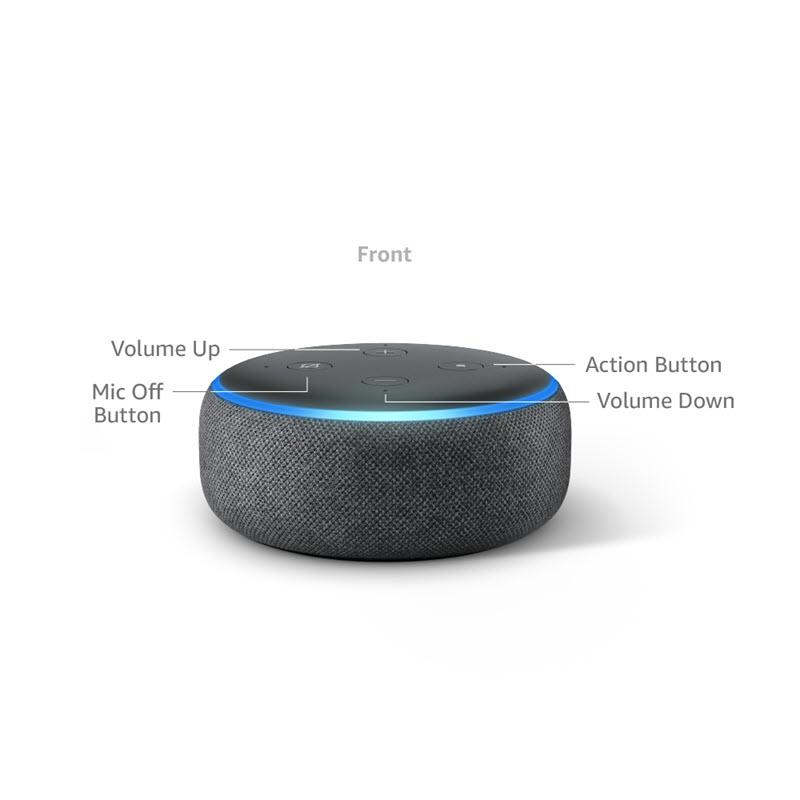 Amazon Echo Dot 3rd Gen Smart Speaker With Alexa (9)