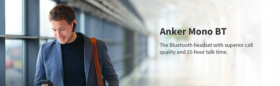 Anker Mono Bt Wireless Bluetooth Headset With Microphone (8)