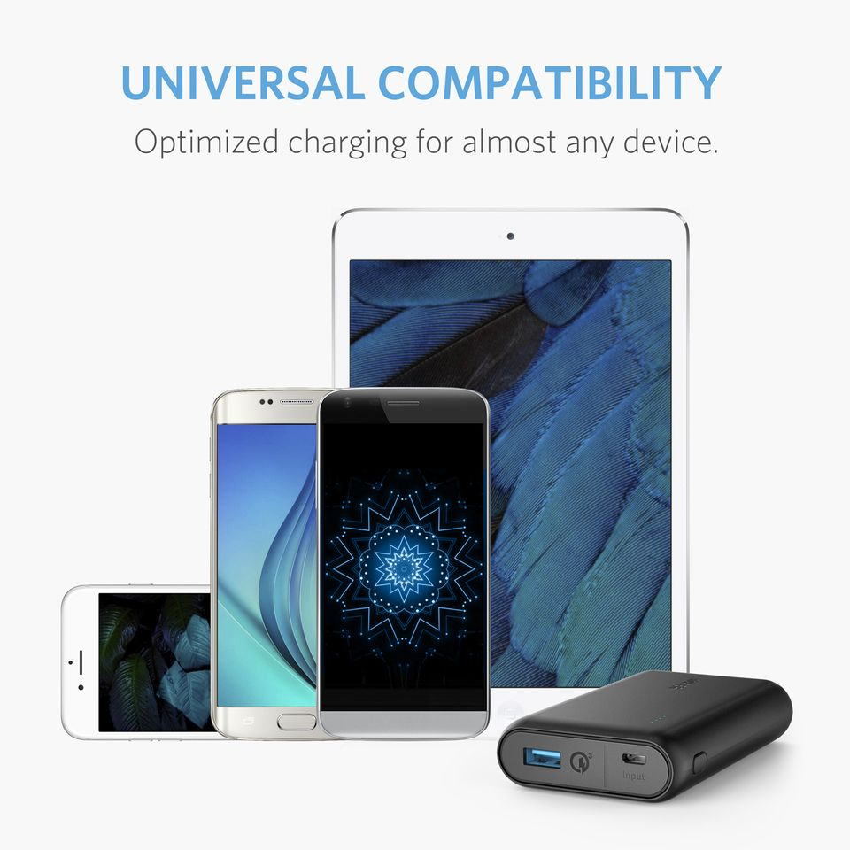 Anker Powercore Speed 10dd000mah Power Bank With Quick Charge 3 0 Support (6)