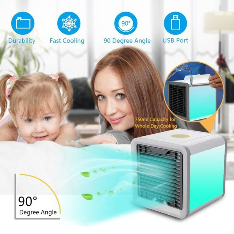 Arctic Air Conditioner With Built In Led Mood Light (3)