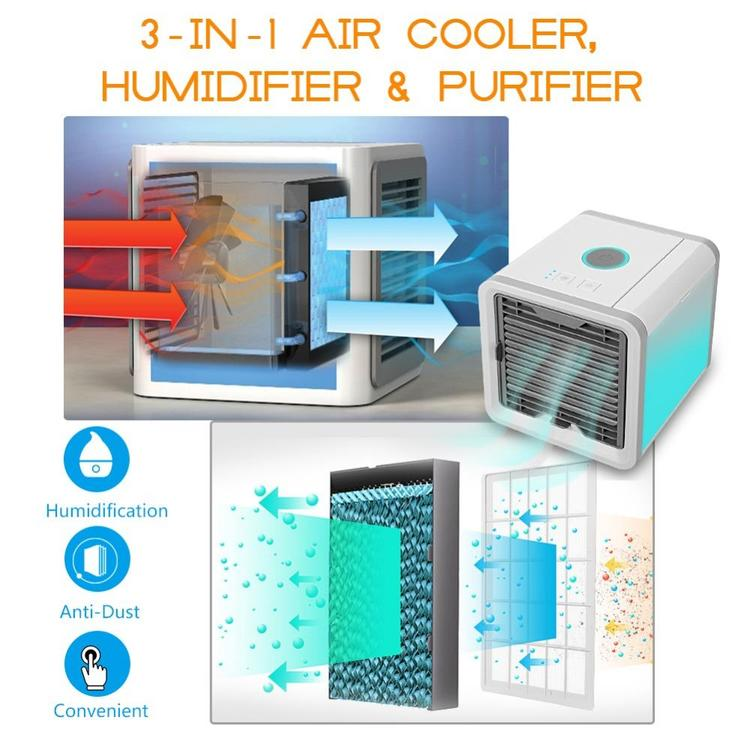 Arctic Air Conditioner With Built In Led Mood Light (4)