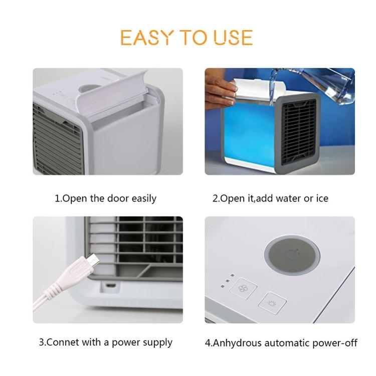 Arctic Air Conditioner With Built In Led Mood Light (5)