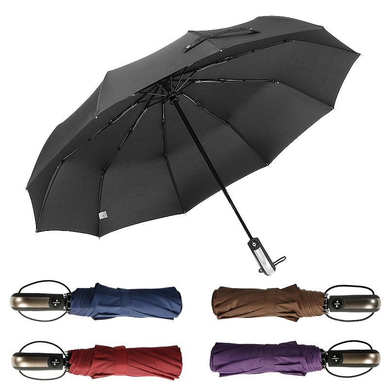 Auto Open Close Windproof Umbrella (1)
