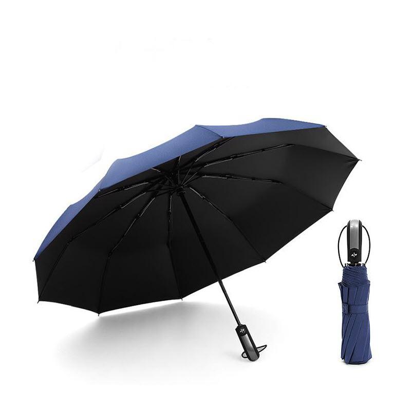 Auto Open Close Windproof Umbrella (6)