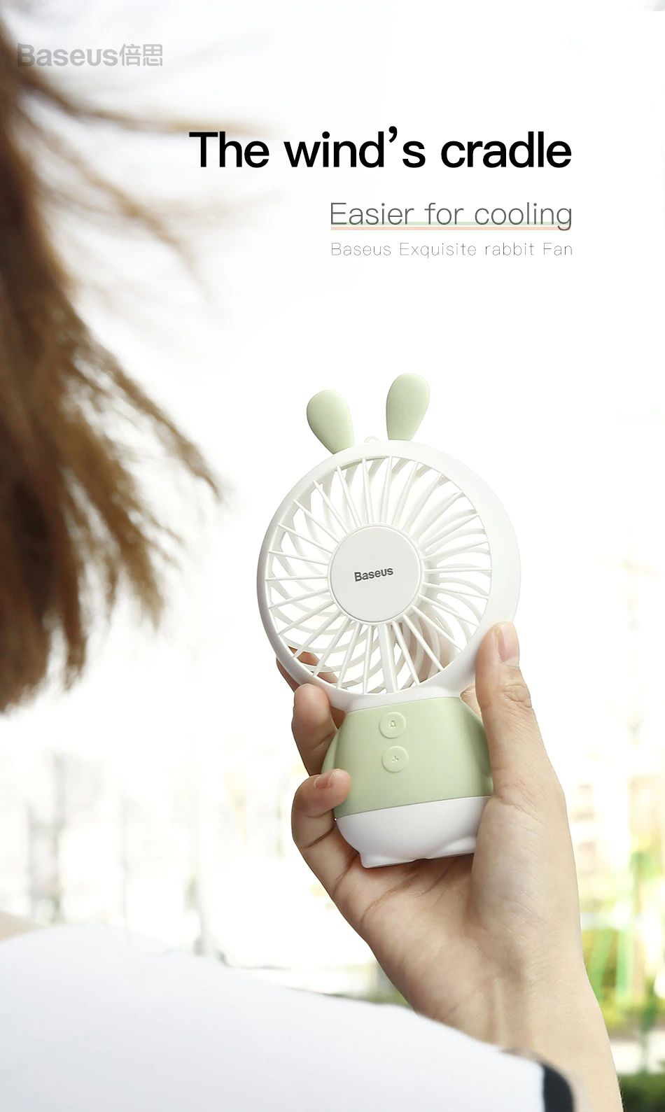 Baseus Dharma Bear Fan (12)