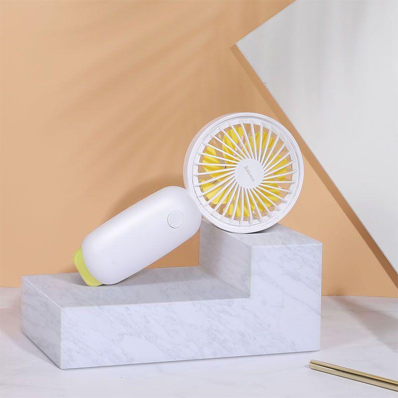 Baseus Firefly Mini Fan 1500mah Rechargeable Usb Fan (8)