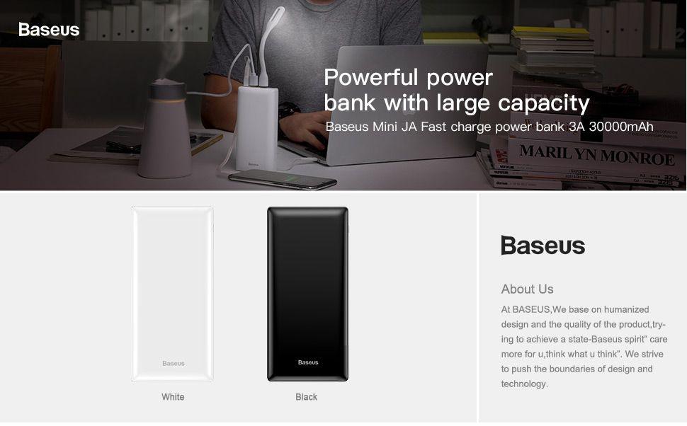Baseus Mini Ja Power Bank 30000mah Power Bank (4)