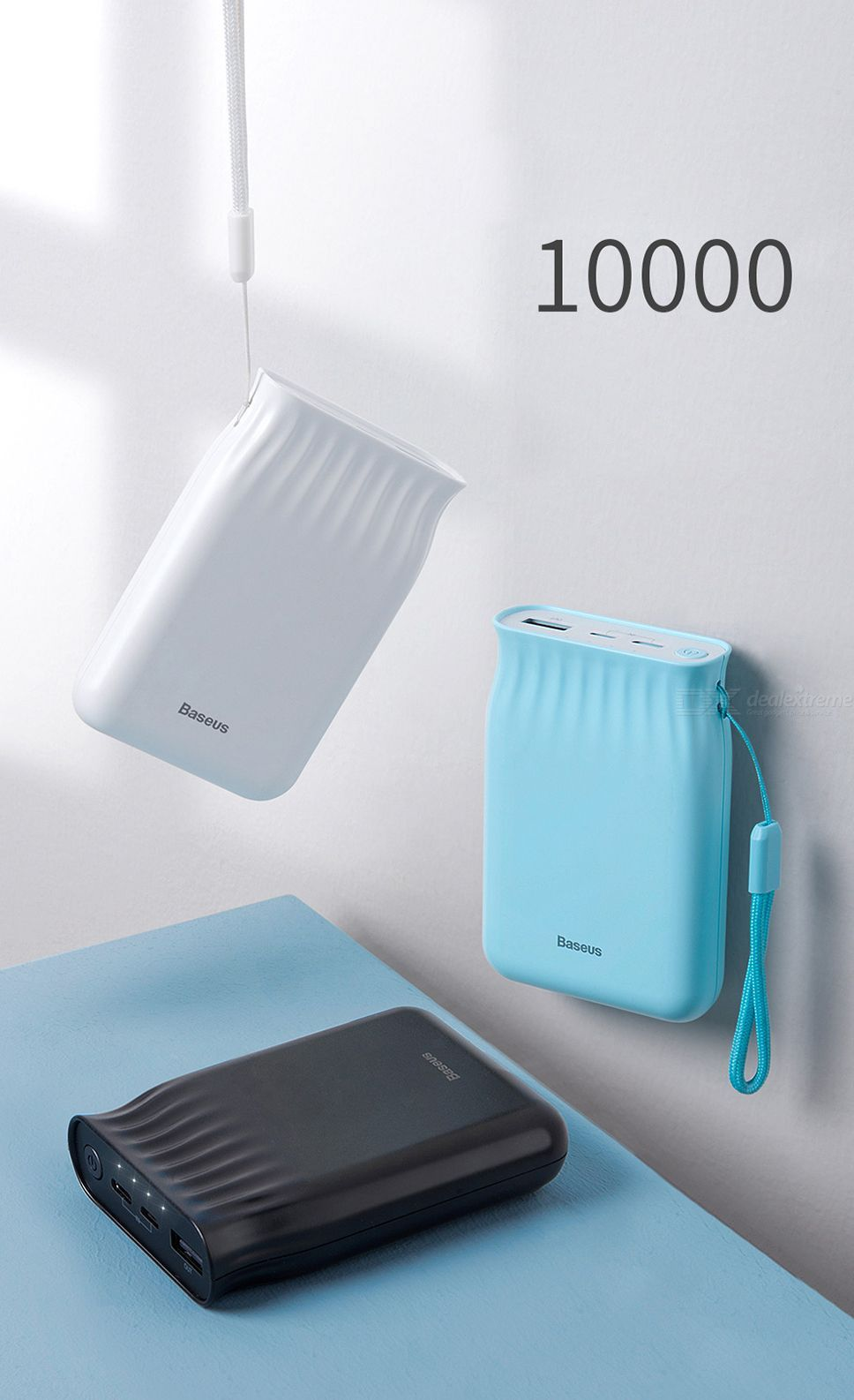 Baseus Mini Mobile Power Supply 10000mah Power Bank (10)