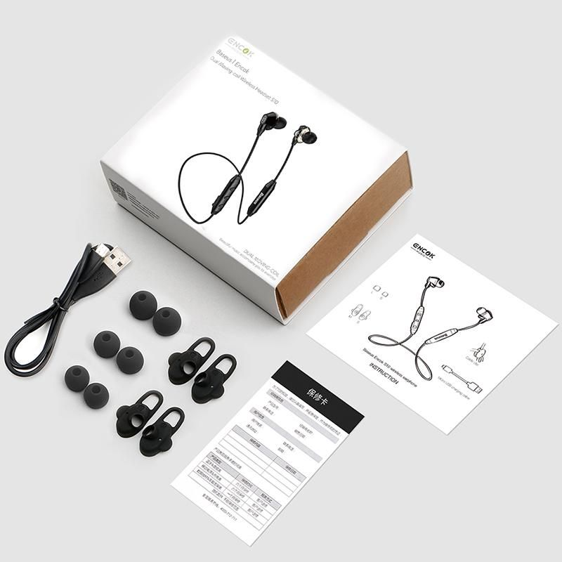 Baseus S10 Waterproof Wireless Bluetooth Earphones (4)