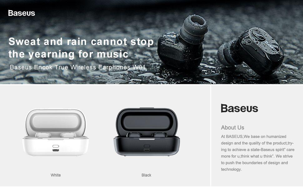 Baseus W01 Tws Bluetooth5 Wireless Earbuds (1)