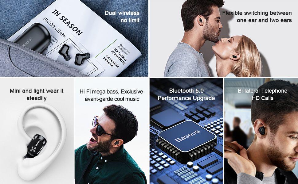 Baseus W01 Tws Bluetooth5 Wireless Earbuds (2)
