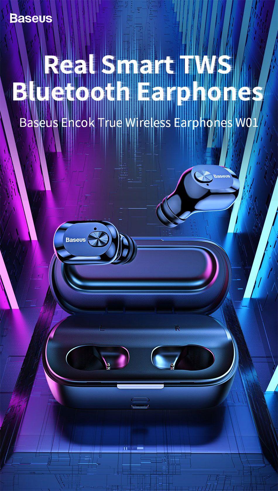 Baseus W01 Tws Bluetooth5 Wireless Earbuds (3)