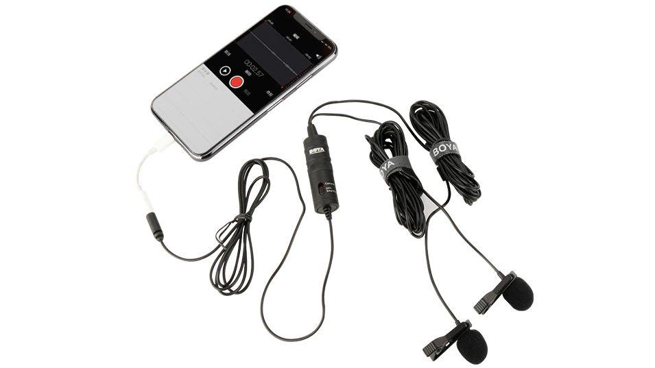 Boya By M1dm Dual Lavalier Universal Microphone (1)