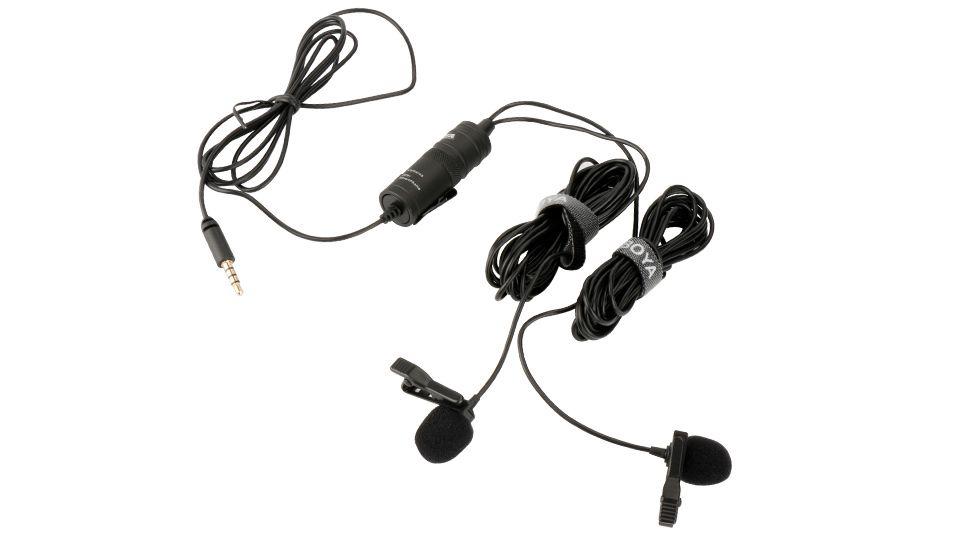 Boya By M1dm Dual Lavalier Universal Microphone (3)