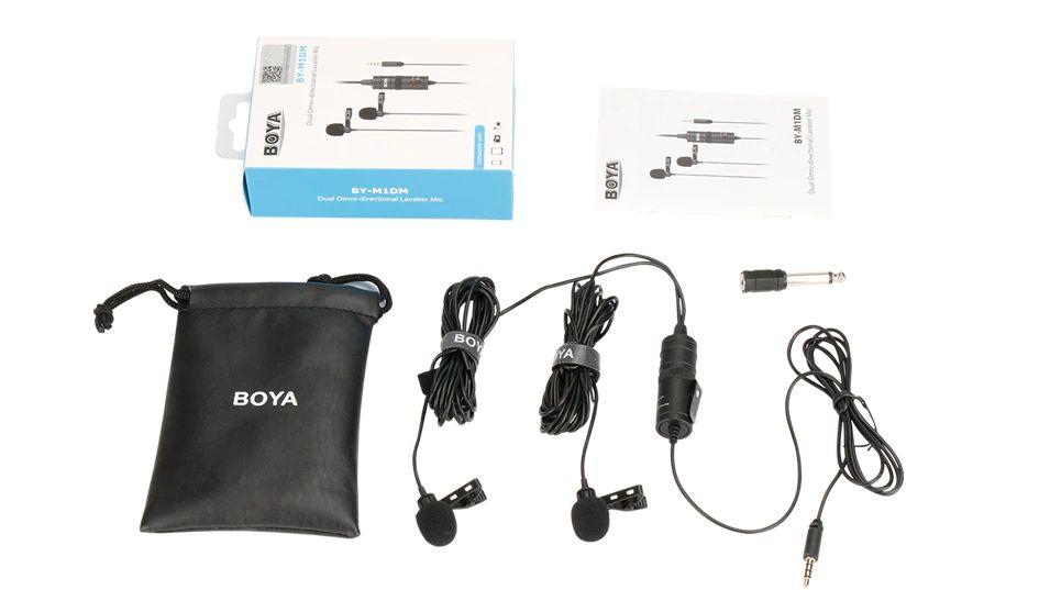 Boya By M1dm Dual Lavalier Universal Microphone (4)