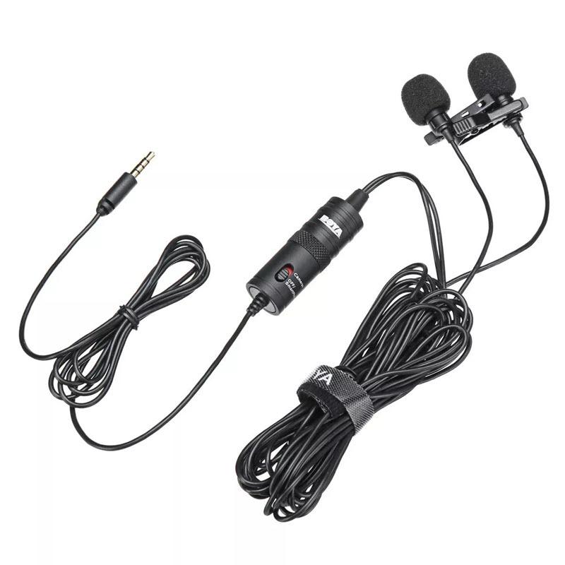 Boya By M1dm Dual Lavalier Universal Microphone (8)