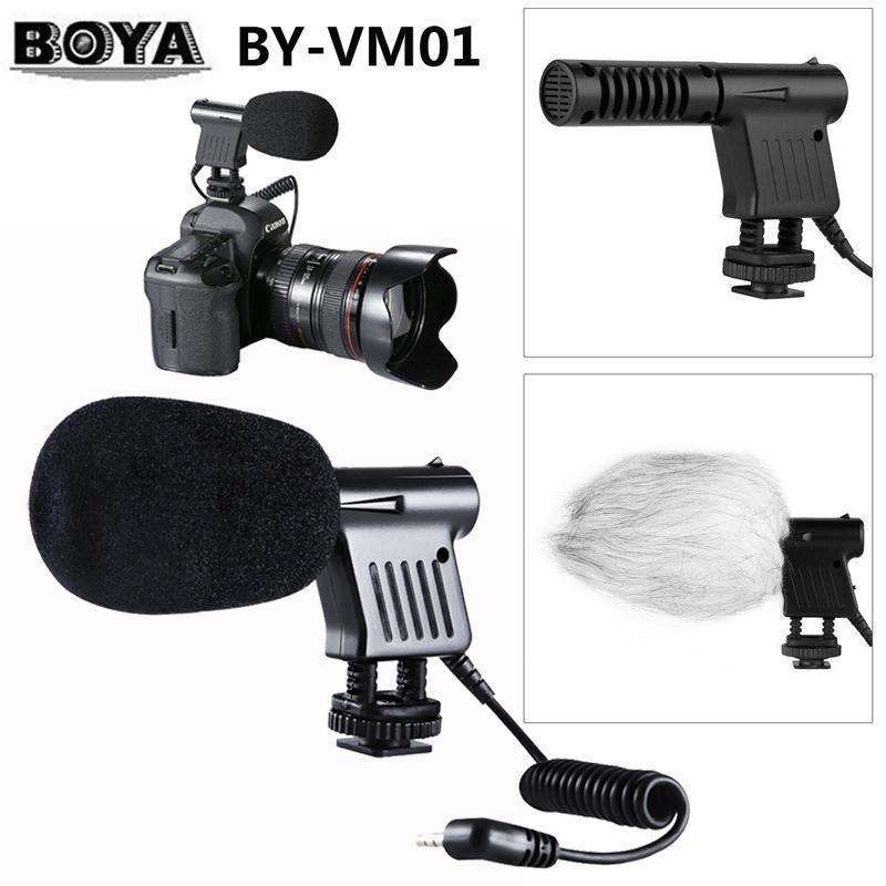 Boya By Vm01 Condenser Mini Microphone (2)