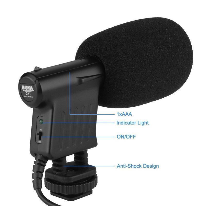 Boya By Vm01 Condenser Mini Microphone (4)