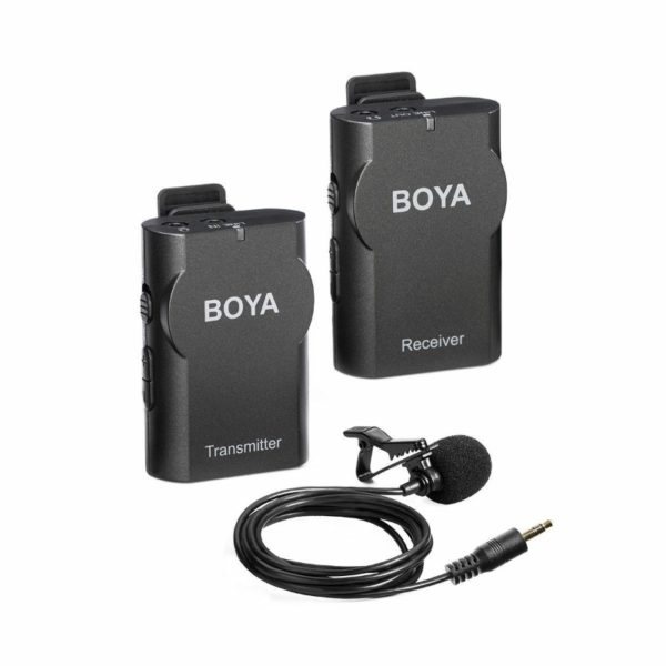 Boya By Wm4 Wireless Lavalier Lapel Microphone (1)
