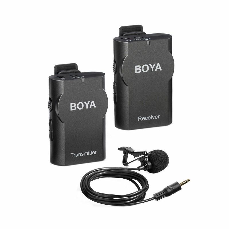 Boya By Wm4 Wireless Lavalier Lapel Microphone (1)