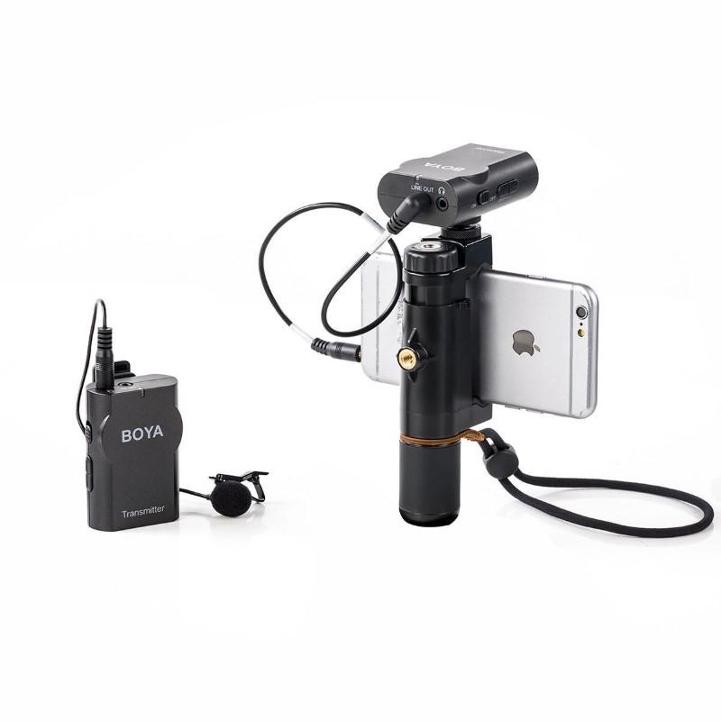 Boya By Wm4 Wireless Lavalier Lapel Microphone (5)