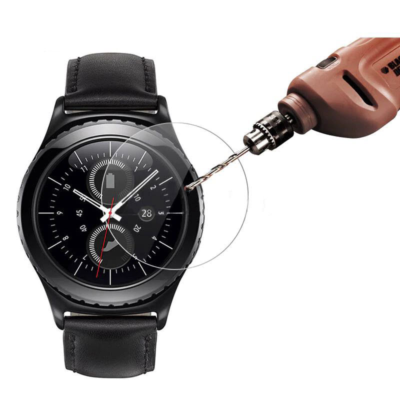 Classic Tempered Glass For Samsung Gear S3 M29 Smartwatches (1)