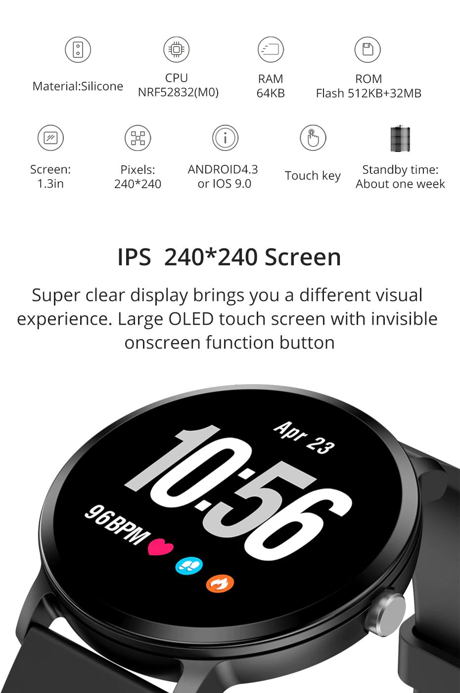 Colmi V11 Smartwatch Ip67 Waterproof (13)
