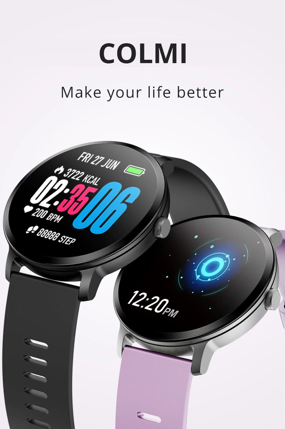Colmi V11 Smartwatch Ip67 Waterproof (14)