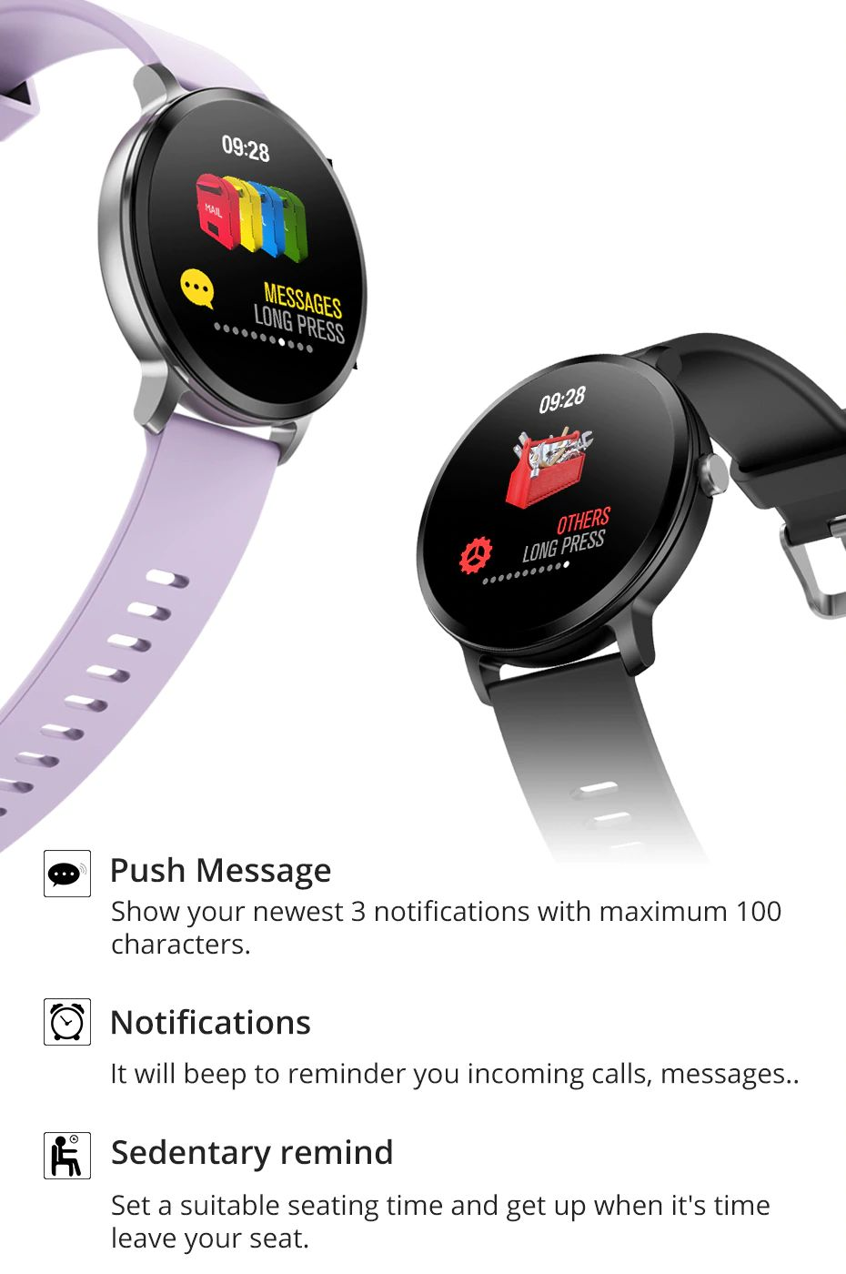Colmi V11 Smartwatch Ip67 Waterproof (3)