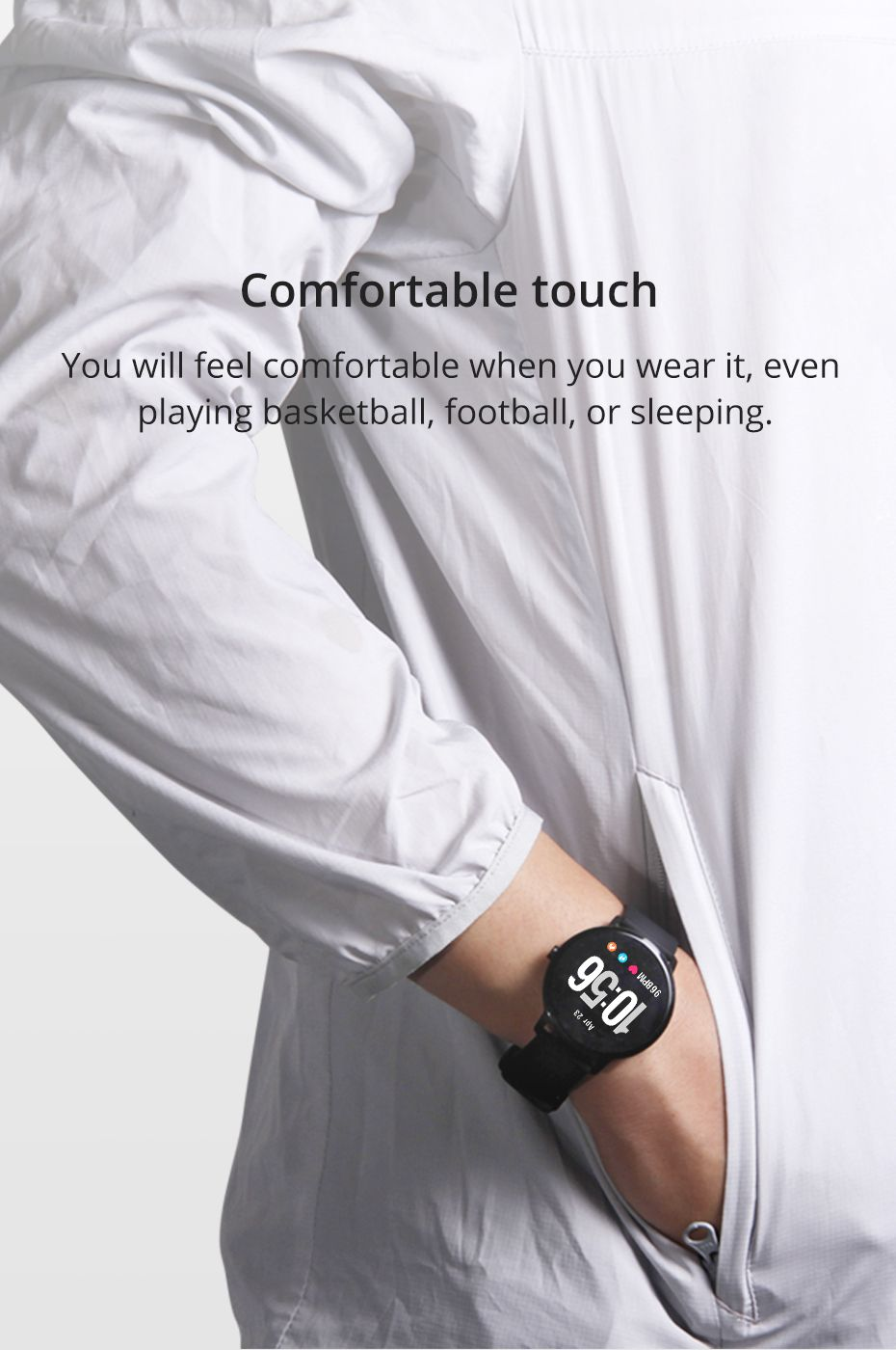 Colmi V11 Smartwatch Ip67 Waterproof (4)