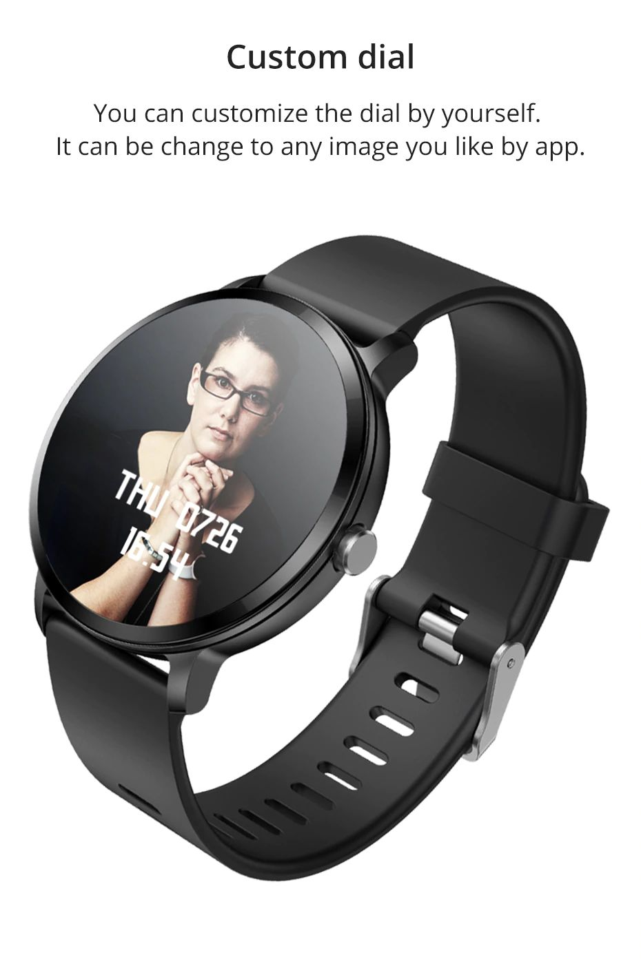 Colmi V11 Smartwatch Ip67 Waterproof (5)