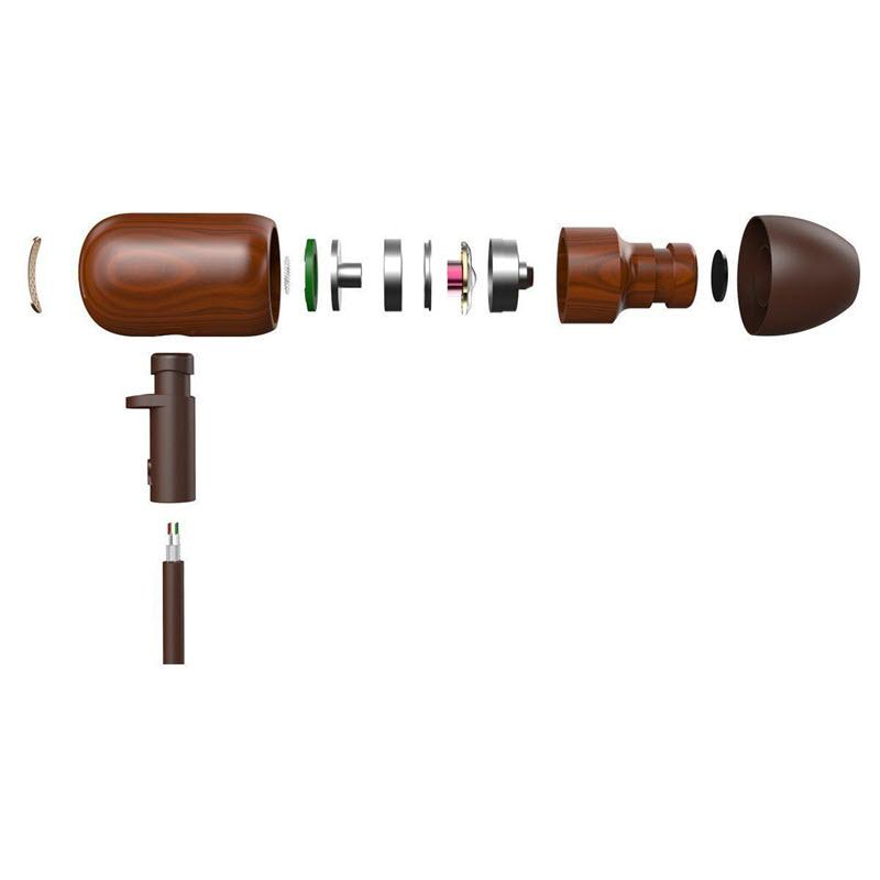 Dzat Df10 Wooden Wired Earphone (1)